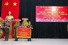 Kỷ niệm 60 năm Ngày truyền thống Tiểu đoàn 1 Long An