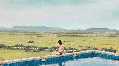 4 homestay có bể bơi vô cực độc đáo, nằm giữa cánh đồng: Tận hưởng kỳ nghỉ giữa thiên nhiên mộc mạc, trong lành