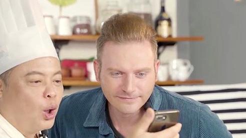 'Siêu đầu bếp' Jack Lee và Kyo York chật vật đọc thơ 'Tràng giang'