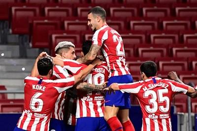 Vòng 30 La Liga: Atletico Madrid thắng nhọc Real Valladolid