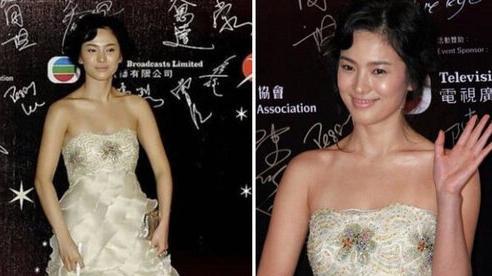 Khoảnh khắc thời trang sến súa đáng quên nhất của Song Hye Kyo bị netizen 'đào mộ'
