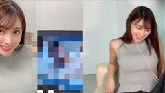 Livestream trực tiếp cảm xúc khi xem phim 'người lớn', cô nàng streamer xinh đẹp nhận về cả tá gạch đá, suýt thì bay kênh