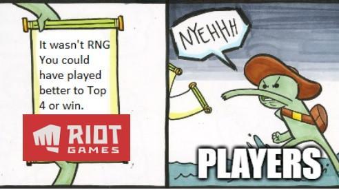 Game thủ Đấu Trường Chân Lý bất ngờ bị Riot khịa - 'Muốn thắng thì chơi giỏi lên, đừng đổ cho may rủi'