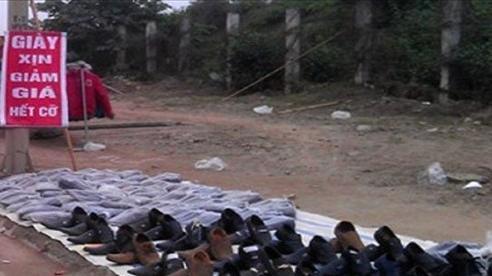 Dựng lều bán giày trên vỉa hè có bị xử phạt không?