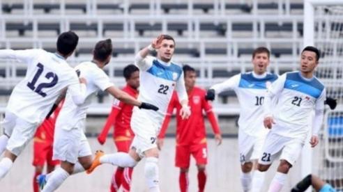 Đội tuyển Việt Nam đá giao hữu với Kyrgyzstan trong tháng 10