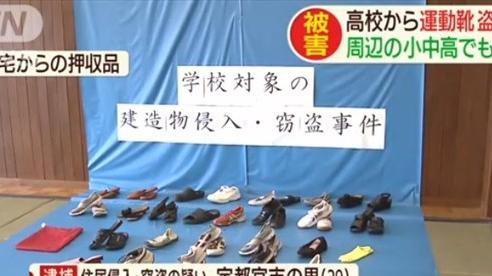 Gã đàn ông lén lút ăn trộm 30 đôi giày vì mê mùi của nữ sinh