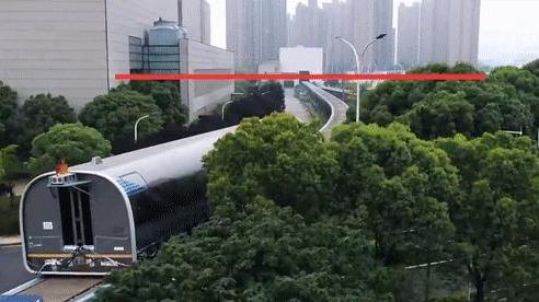 Trung Quốc chạy thử thành công tàu đệm từ tốc độ cao 600 km/h