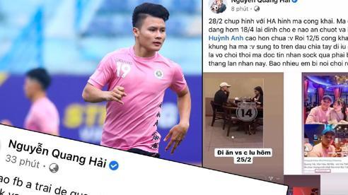Làm gì để tránh bị mất nick và đọc trộm tin nhắn như Quang Hải?