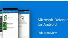 Microsoft Defender ra mắt trên Android