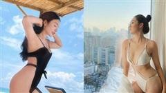 Bikini khoét hông cao: Á hậu Tường San mặc cực đẹp, đến Yaya Trương Nhi 'mặc như không'