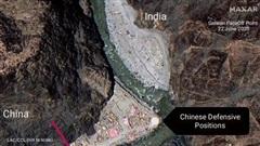 Trung Quốc xây công sự giáp biên giới Ấn Độ