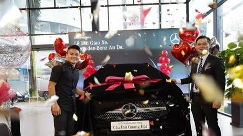 Xe sang Mercedes trị giá 2,4 tỷ đồng của Quang Hải có gì đặc biệt?