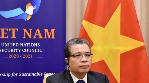 Việt Nam tham gia thảo luận trực tuyến về tình hình Trung Đông, bao gồm cả vấn đề Palestine