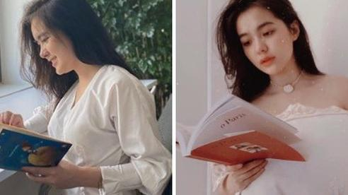 Bị chụp lén trong thư viện, nữ sinh gây bão với vẻ đẹp lai Tây, thạo 3 ngôn ngữ
