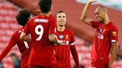 Liverpool vùi dập Crystal Palace, chờ Man City 'dâng' ngôi vương