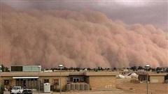 Mây bụi khổng lồ Sahara tấn công Cuba