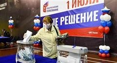 Người Nga đi bỏ phiếu sửa đổi hiến pháp