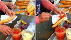 Nhìn ổ bánh mì kẹp đầy ớt mà hội ghiền ăn cay cũng 'phát hoảng': Hoá ra là một đặc sản ngon nức tiếng nhiều vùng Việt Nam