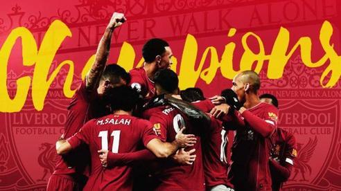 Những con số thống kê nghe thôi đã phải trầm trồ của Liverpool sau chiến tích lần đầu vô địch giải Ngoại hạng Anh