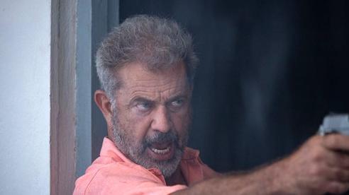 Mel Gibson đóng các pha hành động nặng ở tuổi 64