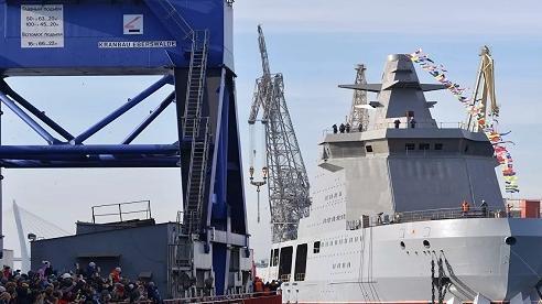 Đô đốc Mỹ: Tàu phá băng Ivan Papanin của Nga mang vũ khí để tấn công