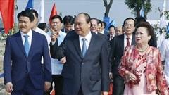 Chủ tịch UBND thành phố Nguyễn Đức Chung: Hà Nội cam kết đồng hành cùng doanh nghiệp vượt bão Covid-19