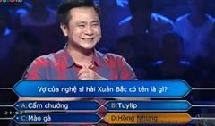 Nghệ sĩ hài hước, trả lời đúng nhiều nhất ở 'Ai là triệu phú'