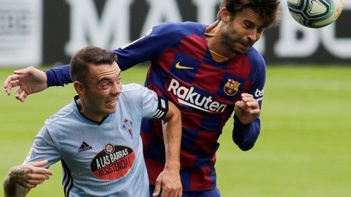 Luis Suarez lập đại công, Barcelona sụp đổ ở Balaidos