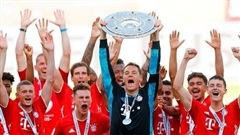 Bayern Munich lần thứ tám liên tiếp vô địch Bundesliga