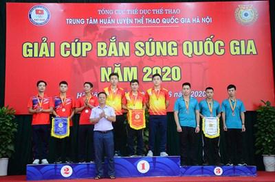 Đoàn Quân đội nhất toàn đoàn tại Giải Cúp bắn súng Quốc gia 2020