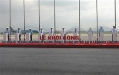 Khởi công dự án cải tạo, nâng cấp đường băng sân bay Nội Bài, Tân Sơn Nhất