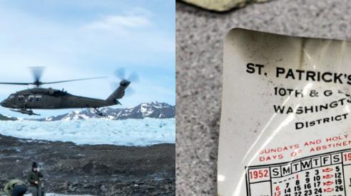 Sông băng Alaska tan hé lộ bí ẩn tai nạn máy bay thảm khốc gần 70 năm trước