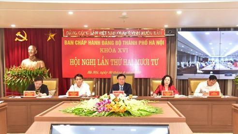 Thành ủy Hà Nội họp xem xét 5 nội dung quan trọng