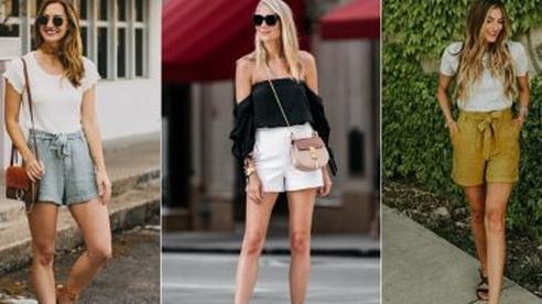Ai cũng biết quần short ống rộng là item hot nhất hè 2020, mix với kiểu áo nào cho sành điệu mới khó