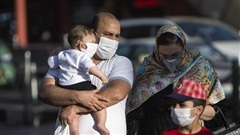 Iran vẫn chưa qua làn sóng dịch COVID-19 đầu tiên
