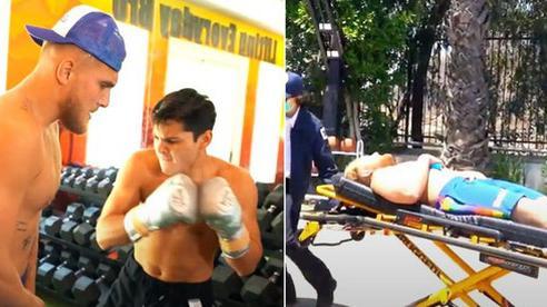 Youtuber nổi tiếng đi cấp cứu sau khi để nhà vô địch boxing đấm vào bụng, lời thừa nhận trên xe cứu thương sau đó khiến tất cả phải ngã ngửa