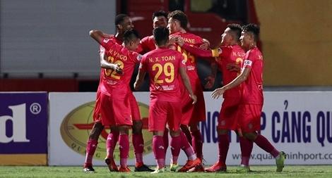 Trở lại cố hương, CLB Sài Gòn hạ đo ván Hà Nội FC