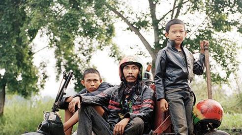 Văn hóa xe Vespa độ độc đáo của người dân Indonesia
