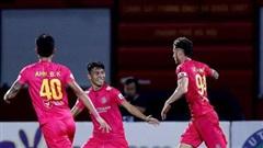 Kết quả, bảng xếp hạng vòng 7 V-League: Sài Gòn FC giữ kỷ lục