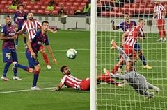 Hòa Atletico Madrid, Barca hụt hơi trong cuộc đua vô địch