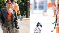 Kim Kardashian, thiên thần nội y Emily Ratajkowski diện trang phục bắt mắt xuống phố giữa tâm dịch