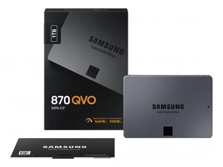 Samsung ra mắt loại ổ cứng mới có dung lượng lên tới 8 terabytes