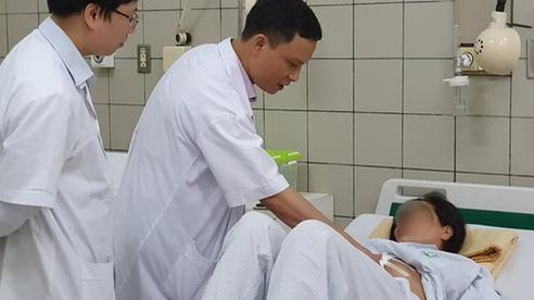 Sản phụ 36 tuần có khối u gan nặng 3kg sinh con khỏe mạnh