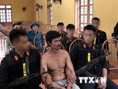 Sơn La: Bắt nghi phạm giết người rồi bỏ trốn sau 28 tiếng truy tìm