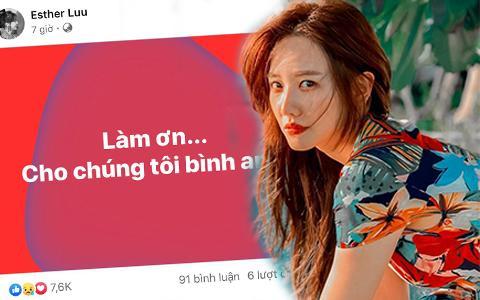 Giữa đêm, Hari Won bất ngờ đăng status mong được bình an, chuyện gì đây?