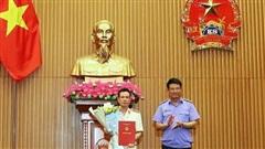Trao quyết định bổ nhiệm Thủ trưởng Cơ quan điều tra Viện KSND tối cao