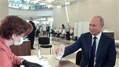 Hơn 78% cử tri Nga ủng hộ sửa đổi Hiến pháp