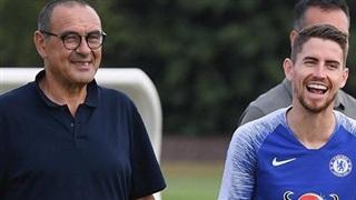 Xong vụ Arthur, HLV Sarri tìm cách đưa Jorginho về Juventus