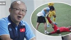 Thầy Park bật cười chua chát trước 'thảm cảnh' U22 Việt Nam đuối sức, đá không nổi 90 phút