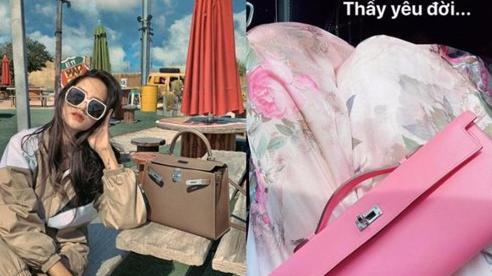 Giữa scandal nhân viên Hermes bán túi fake, Hương Giang vẫn tự tin mua túi 290 triệu đồng chẳng hề lo lắng